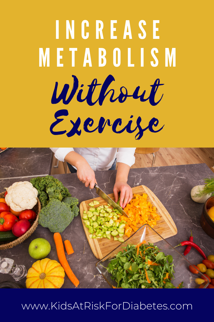 How to increase metabolism without exercise